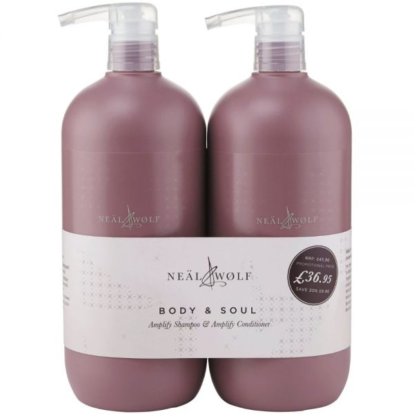 Neal & Wolf Amplify Shampoo & Conditioner BUNDLE | Neal & Wolf