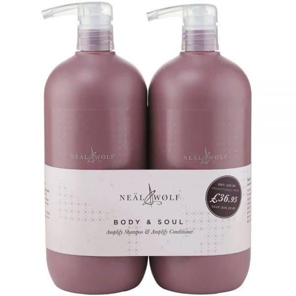 Neal & Wolf Amplify Shampoo & Conditioner BUNDLE | Neal & Wolf