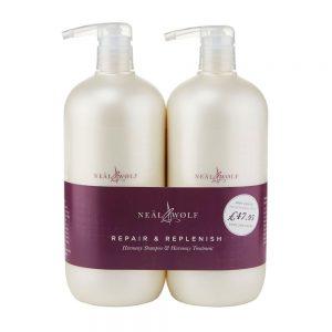 Neal & Wolf Harmony Intensive Care Shampoo & Treatment BUNDLE   Neal & Wolf